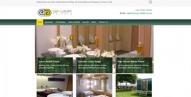 D&P Luxury Toilets Ltd