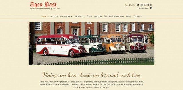 Ages Past - Vintage & Classic Vehicles